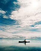 MONGOLIA, Lake Khuvsgul, the dark blue pearl, kayaking, Khuvsgul National Park