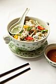 VIETNAM, Hanoi, Sofitel Metropole Hotel, chicken pho noodle soup
