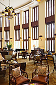 VIETNAM, Saigon, a section of the large and open piano bar at the Park Hayatt Saigon Hotel, Ho Chi Minh City