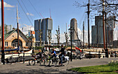 View from the Veerhaven to the eastern side, Rotterdam, The Netherlands