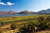 Lake Itasy, highlands west of Antananarivo, Madagascar, Africa