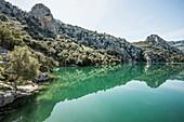 Stausee Gorg Blau, Serra de Tramuntana, Mallorca, Spanien