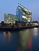 Headquarters of Spiegel puplishing house, HafenCity, Hanseatic City of Hamburg, Germany