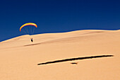 Paragliding over Dunes of Namib Desert, Long Beach, Swakopmund, Namibia