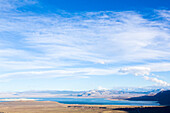 View from Tioga Pass to Mono Lake, California, USA