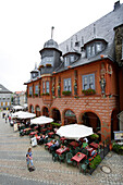 Hotel Kaiserworth, Market square, Goslar, Lower Saxony, Germany