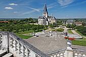 Abbey church St. Georges de Boscherville, Abbaye romane normande, Saint Martin de Boscherville, Upper Normandy, France