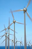 Windmills, wind energy, Tenerife, Canary Islands, Spain