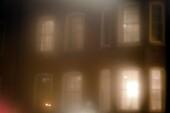 built structure, Cloud, color image, fog, horizontal, house, mist, no people, structure, window, B75-1458119, AGEFOTOSTOCK