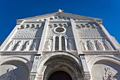 France, Corsica, Corse-du-Sud Department, Corsica West Coast Region, Ajaccio, Eglise Sacre Coeur church