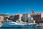 France, Corsica, Corse-du-Sud Department, Corsica South Coast Region, Propriano, town marina