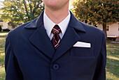 Man's Torso, Jacket and Tie