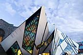 Royal Ontario Museum, designed by Daniel Leibskind, Toronto, Ontario