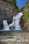 Cameron Falls, Waterton, Waterton National Park, Alberta, Canada