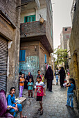 Arab Republic of Egypt, Cairo, Daily life in a Cairo street