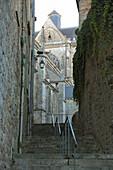 France, Pays de la Loire, Sarthe (72), Le Mans, Cite Plantagenet, Medieval district, Saint Julien cathedral