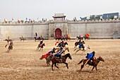 Shenzhen City, Splendid China Park, mongol show
