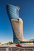 United Arab Emirates (UAE), Abu Dhabi City, Capital Gate Tower