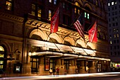 CARNEGIE HALL FIFTY SEVENTH STREET MANHATTAN NEW YORK CITY USA