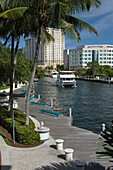 LAS OLAS RIVERFRONT NEW RIVER DOWNTOWN FORT LAUDERDALE FLORIDA USA