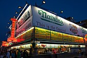 NATHANS FAMOUS HOT DOG STAND SURF AVENUE CONEY ISLAND BROOKLYN NEW YORK USA
