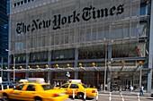NEW YORK TIMES BUILDING EIGHTH AVENUE MIDTOWN MANHATTAN NEW YORK USA