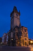 OLD TOWN HALL CHAPEL AND TOWER OLD TOWN SQUARE STARE MESTO PRAGUE CZECH REPUBLIC