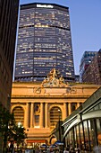 PERSHING SQUARE CAFES GRAND CENTRAL TERMINAL FORTY SECOND STREET MANHATTAN NEW YORK CITY USA