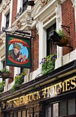 SHERLOCK HOMES PUB NORTHUMBERLAND STREET LONDON ENGLAND UK