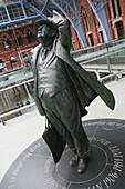 Bronze Sculpture At St. Pancras