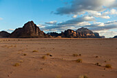 Desert In Wadi Rum, Jordan, Middle East