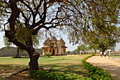 The Lotus Mahal Was The Queen's Quarters In Hampi. Islamic Design, Karnataka, India