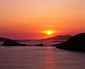 evening Atlantic Blasket Dingle EU Europe European holidays Horizontal island isle Ireland Europe Kerry