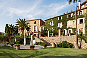 Exterior shot of Hotel La Residencia, Deia, Majorca, Spain