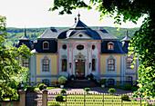 Rococo Period Castle Dornburg, Dornburg-Camburg near Jena, Thuringia, Germany