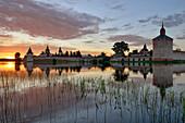 Sonnenuntergang, Kirillo-Belozersky Kloster Kirillov, Region Wologda, Russland