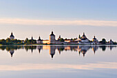 Dawn at the Kirillo-Belozersky monastery, Kirillov, Vologda region, Russia