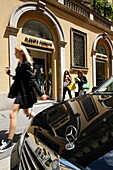 Fashion boutique, Via Montenapoleone, Golden Triangle, Milan, Lombardy, Italy