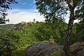 Nideggen castle, Nationalpark Eifel, Nideggen, Dueren, Eifel, North Rhine-Westphalia, Germany