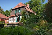 Gerhart-Hauptmann-Haus, Haus Seedorn, Kloster, Hiddensee island, Baltic Sea, Mecklenburg Western-Pomerania, Germany