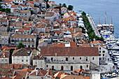 Idyllic seaport, Hvar, Dalmatia, Croatia