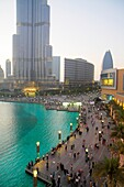 United Arab Emirates, U A E, UAE, Middle East, Dubai, Downtown Dubai, Burj Dubai, Dubai Mall, Burj Khalifa Lake, Burj Khalifa, world´s tallest building