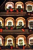 Christmas Market, Lueneburg, Lower Saxonia, Germany, Europe