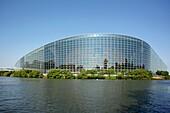 European Parliament building, Strasbourg, Frankreich