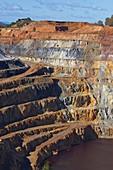 Rio Tinto, Corta Atalaya, Rio Tinto mines, Huelva province, Andalusia, Spain