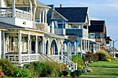 Houses, Oak Bluffs, Martha´s Vineyard, Massachusetts, USA