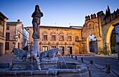 Plaza del Populo o de los leones, Baeza  Jaén province, Andalusia, Spain