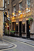 Walkers Wine And Ale Bar near Trafalgar Square, London England, UK