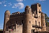 Fasilidas´s Castle, Fasil Ghebbi Royal Enclosure Gondar, Ethiopia