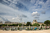 Jardin des Tuileries, Paris, France, Europe, UNESCO World Heritage Sites (bank of Seine between Pont de Sully und Pont d'Iena)